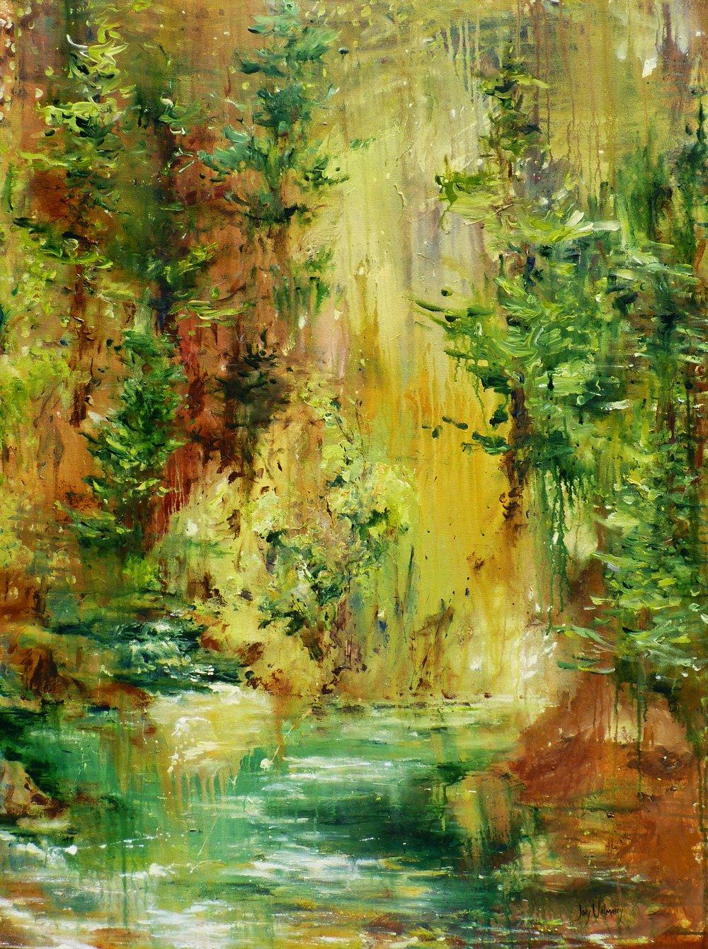 Fluttering Forest - SOLD