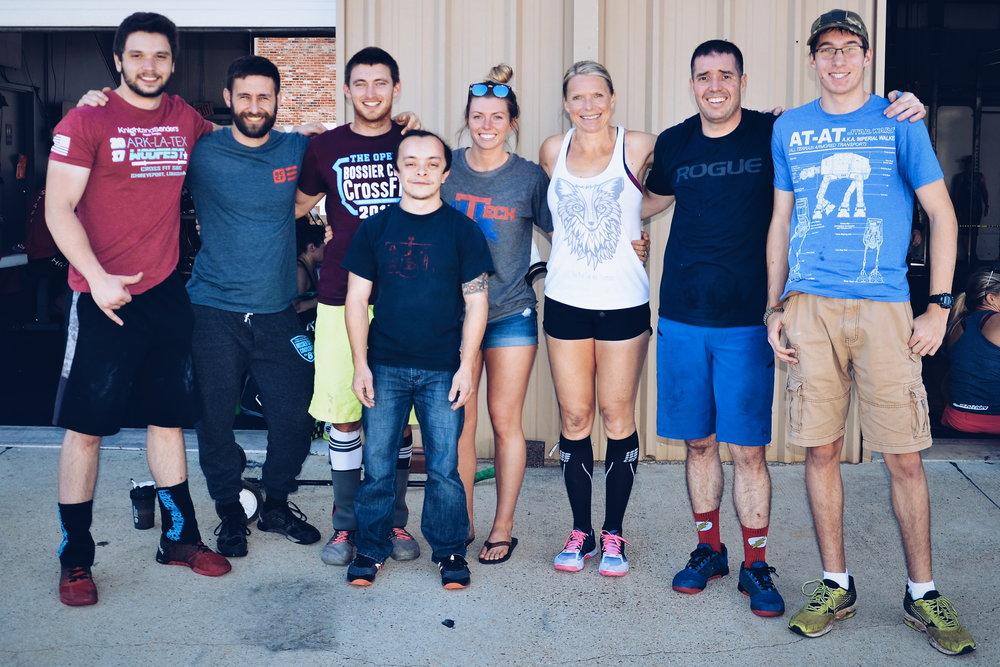 Bossier City CrossFit at ARKLATEX WODFEST 2017