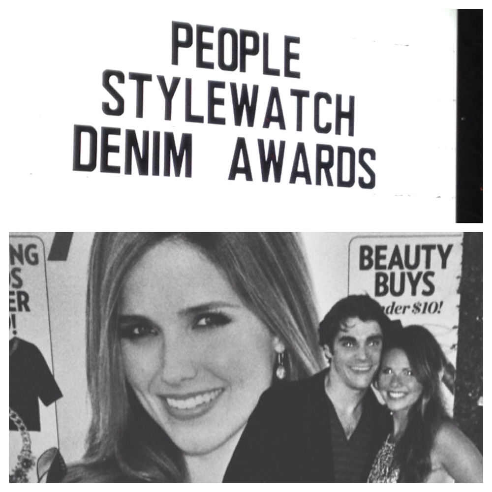 Rj MItte and ainsley britain at people magazine's style watch denim awards!