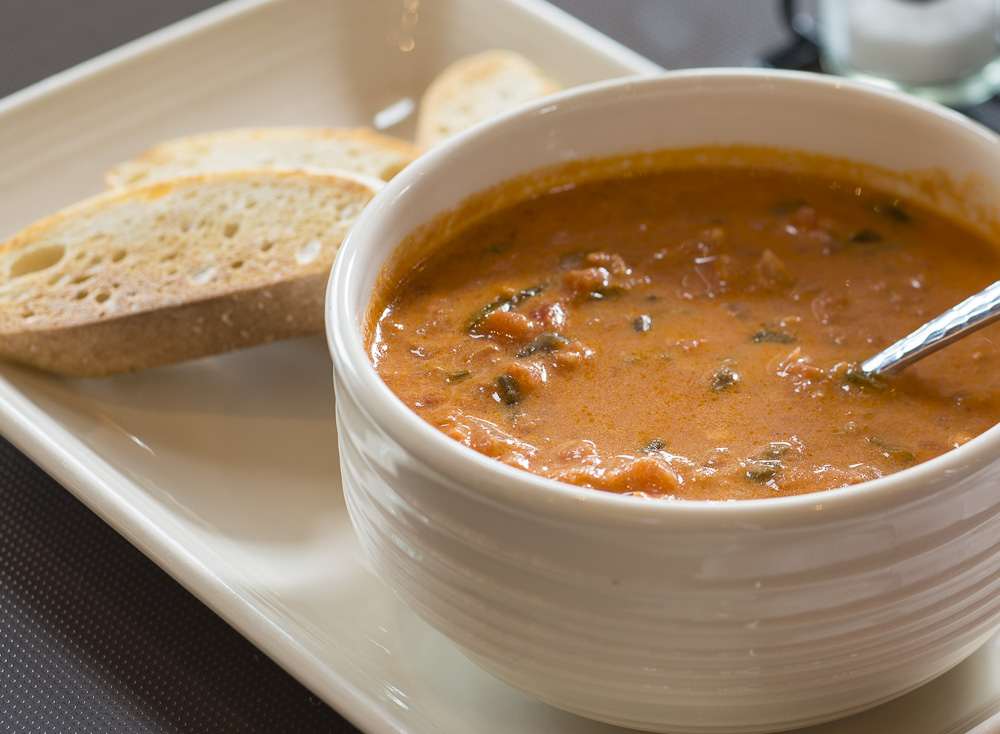 Our famous Tomato Basil Soup
