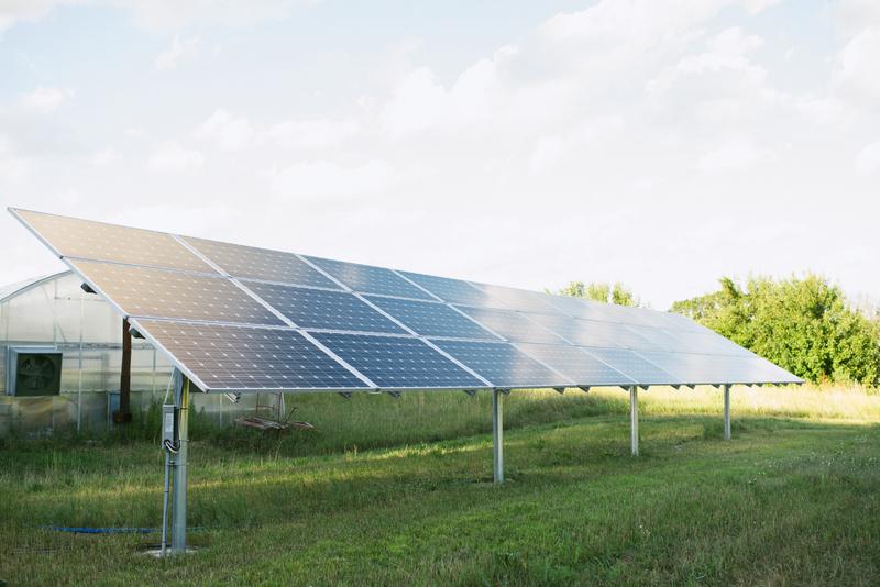 Common Harvest Farm Solar Panels