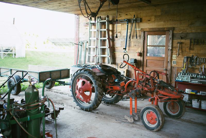Common Harvest Farm Sun-Powered Machine