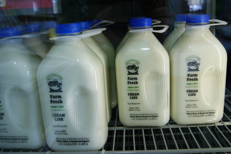 Crystal Ball Farms Organic Milk