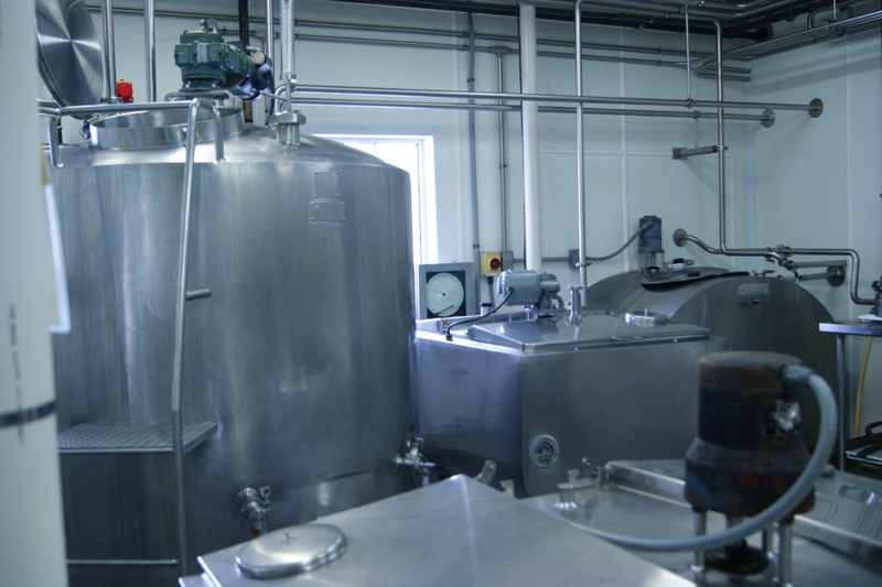 Crystal Ball Farms Organic Dairy Processing