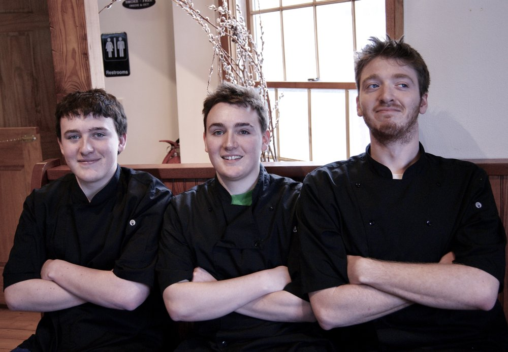 The Watershed Cafe's Kitchen Crew
