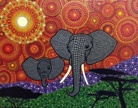 New Artwork by local Artist Roxanne Dear