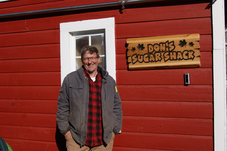 Don Hansen of Don's Sugar Shack