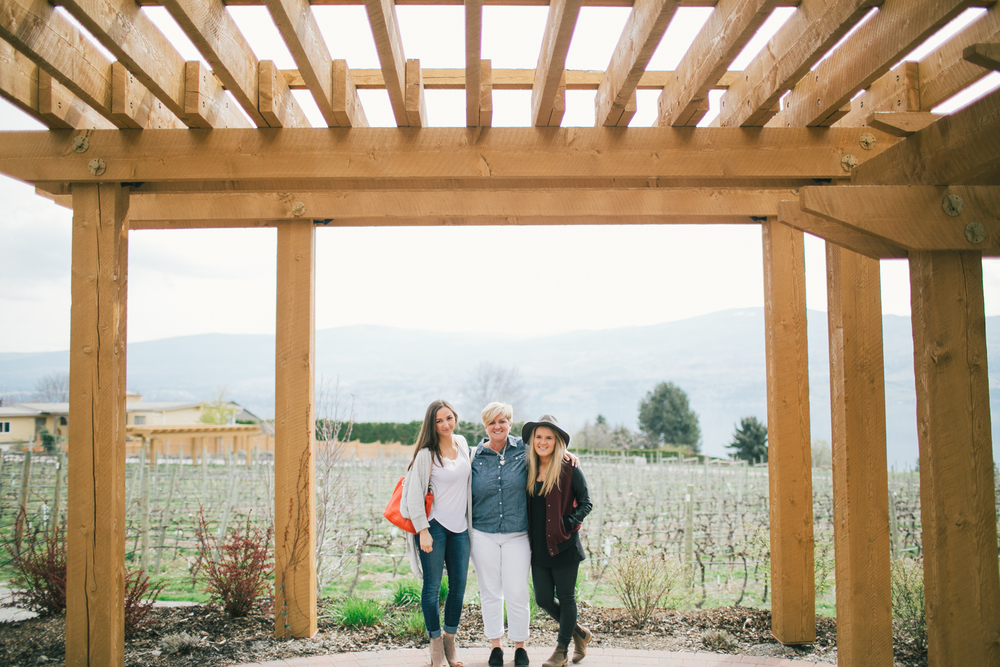 Long weekend in Kelowna. Winery tours, Quail's Gate, Cedar Creek, Mission Hill.  Vancouver wedding, lifestyle and portrait photographer. Lesley Laine