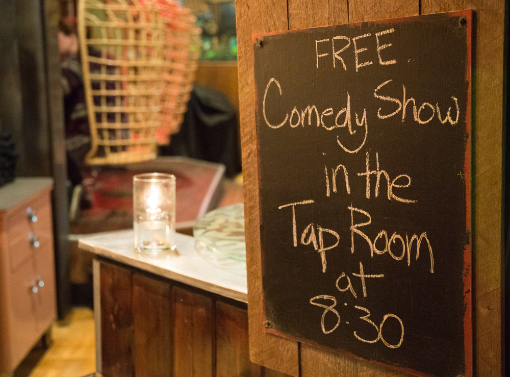 Article & photos about the comedy scene in Portland, Oregon for SF Chronicle.