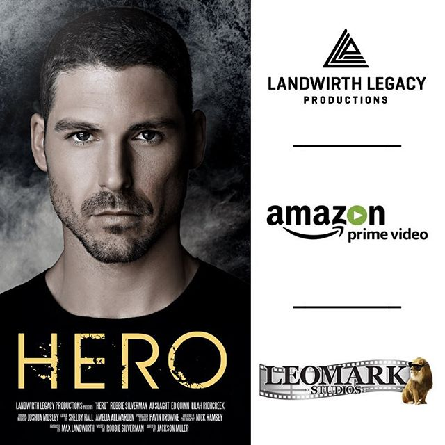 "We are so grateful and excited to announce that our short film, ""Hero"" has secured distribution with @leomarkstudios and is now available on @amazonprimevideo! Be sure to check it out and leave a review to let us know what you think! Link in Bio!!"