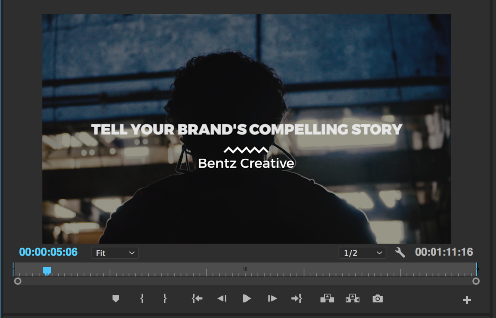 Adding text can enhance your video is always a plus!