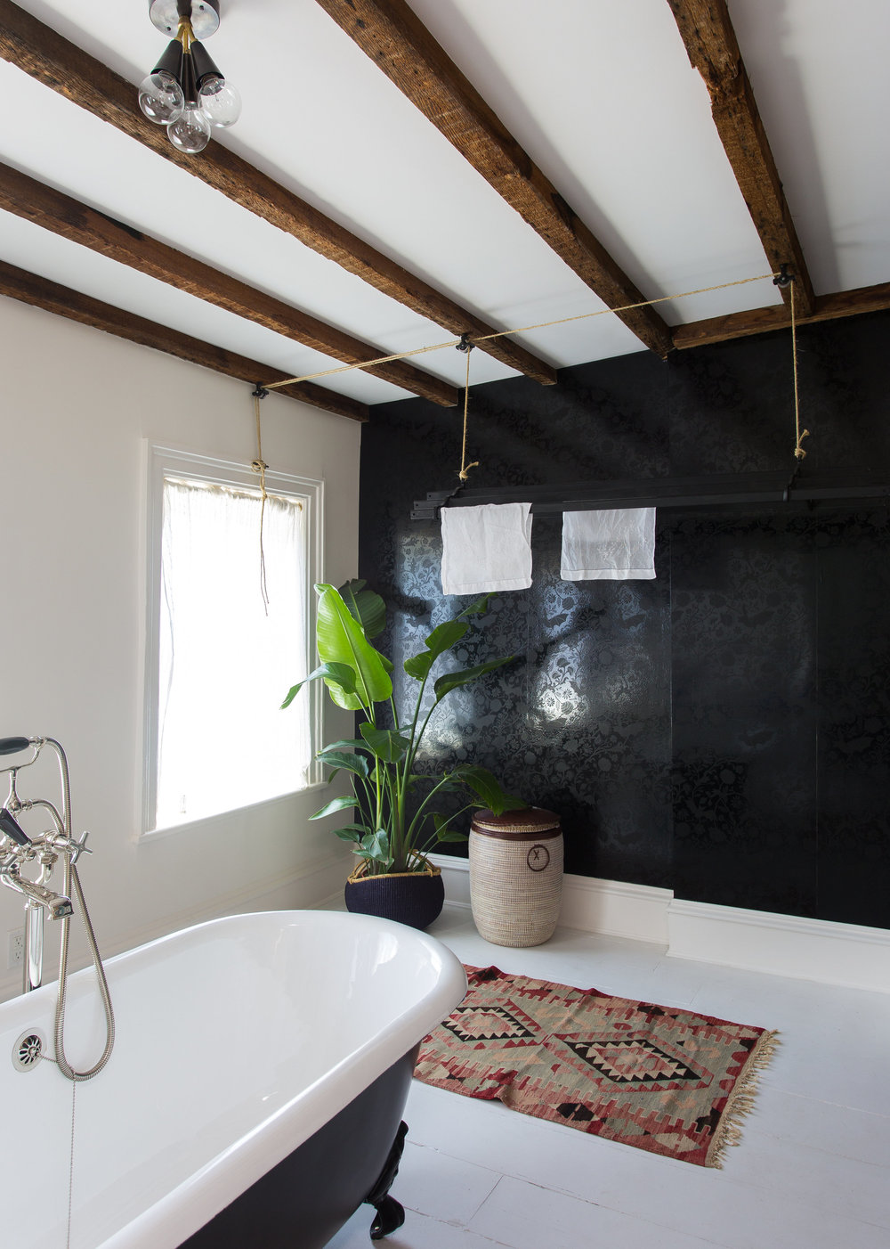 Indigo & Ochre Design Cobble Hill Master Bath