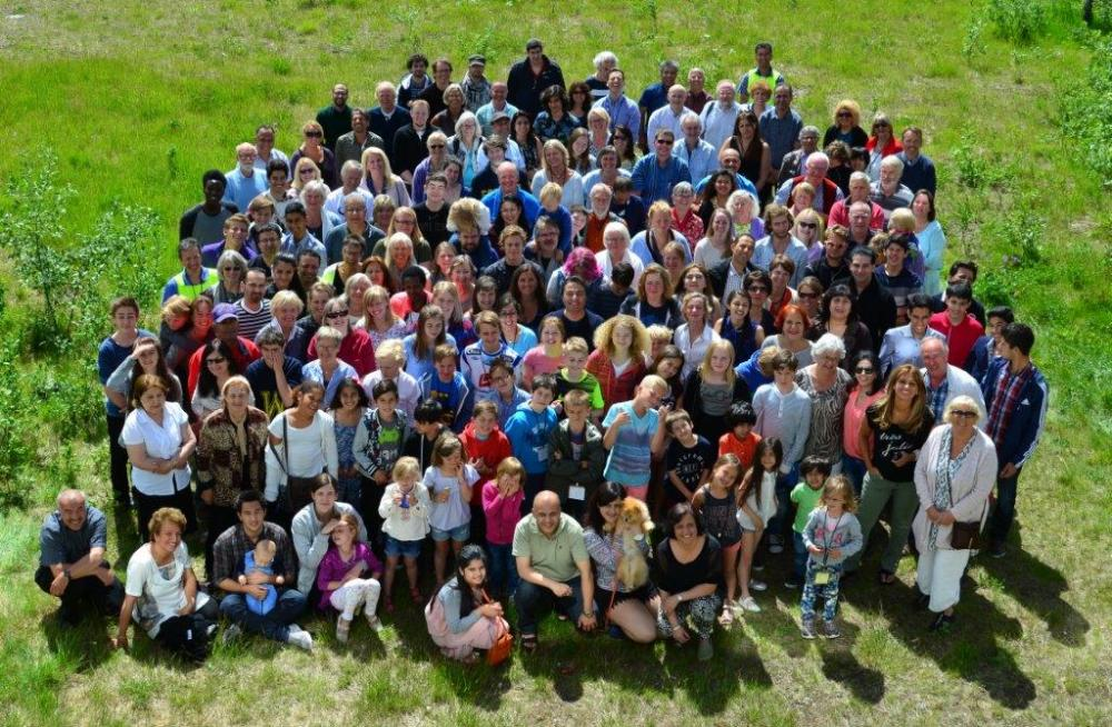 Fellesbilde av deltakerne på sommerskolen