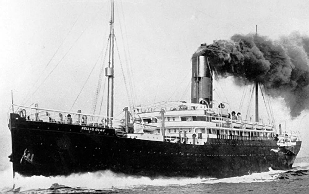 """Dampskipet """"Hellig Olav"""" tok drøyt 1000 passasjerer fra første til tredje klasse"""