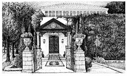 Bahá'u'lláhs gravmæle