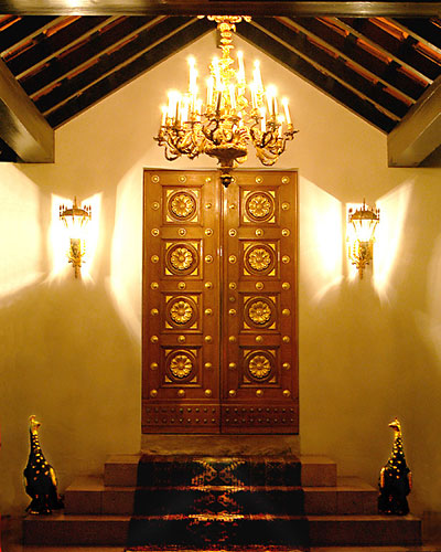 Inngangen til Bahá'u'lláhs gravmæle. FOTO: bahai.org