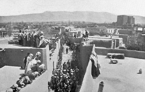 Tabriz, det nordlige Iran ca 1890. FOTO: bahai.org