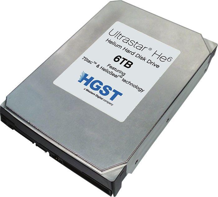 HGST 6 TB hard drive