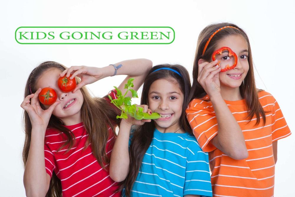 KIDS GOING GREEN