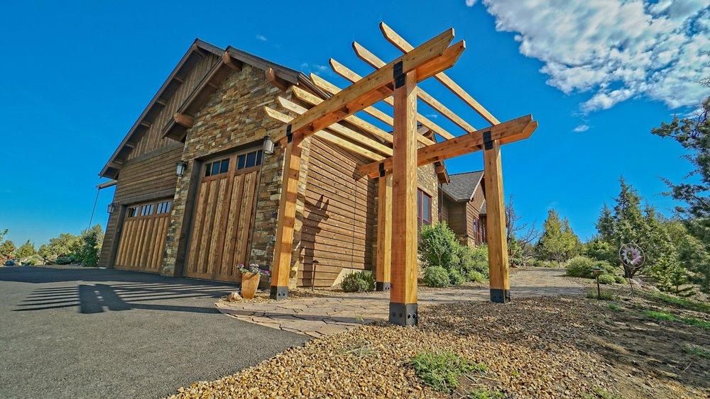 Cedar Pergola, Powell Butte Oregon