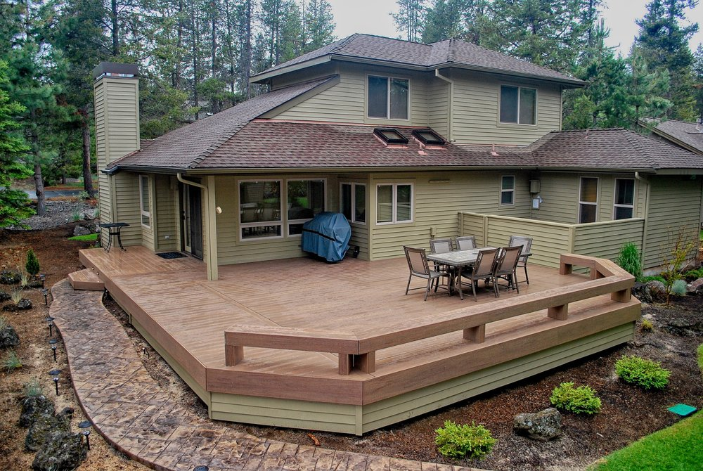 TimberTech deck. Sunriver Oregon.