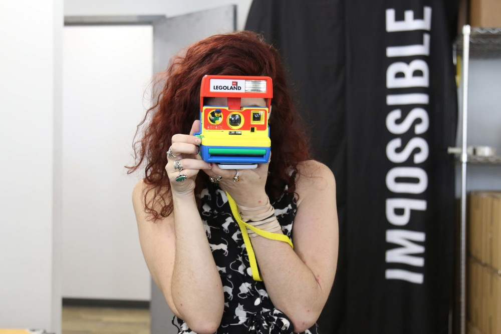 Meet Lizzy of The Impossible Project.