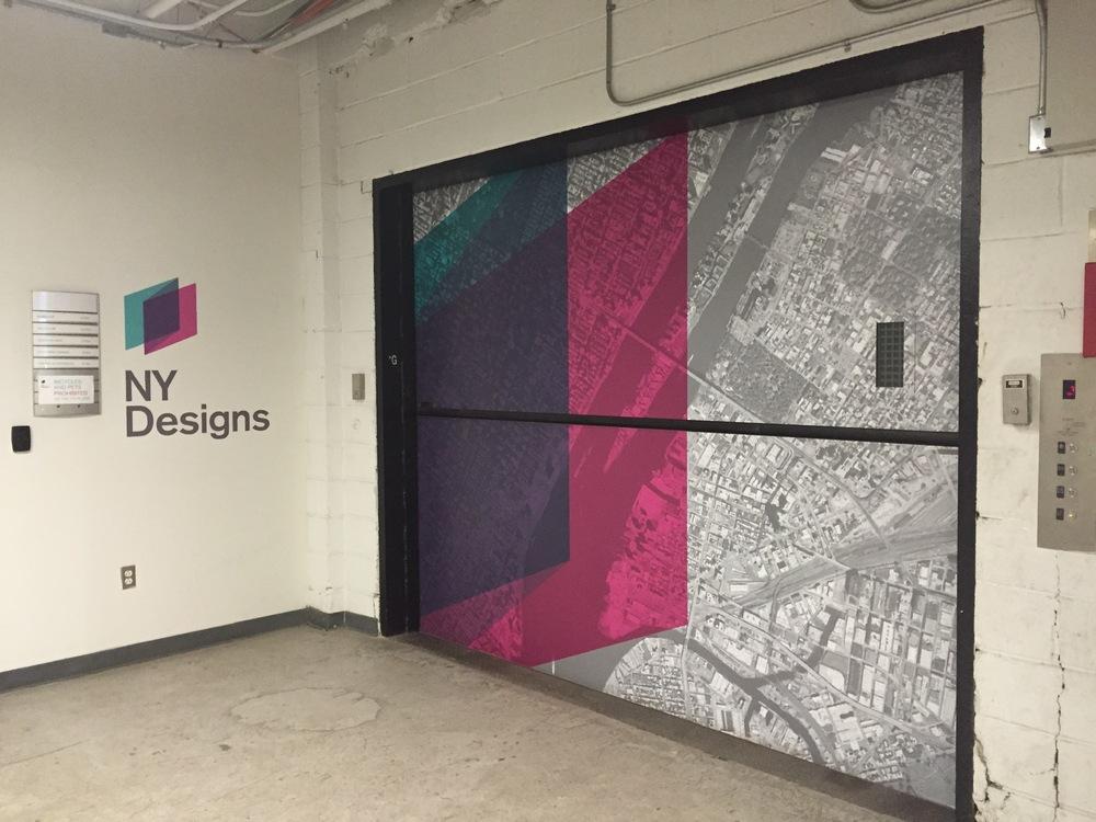 Entrance to NY Designs.
