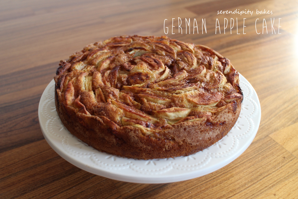 German Apple Cake — Serendipity Bakes