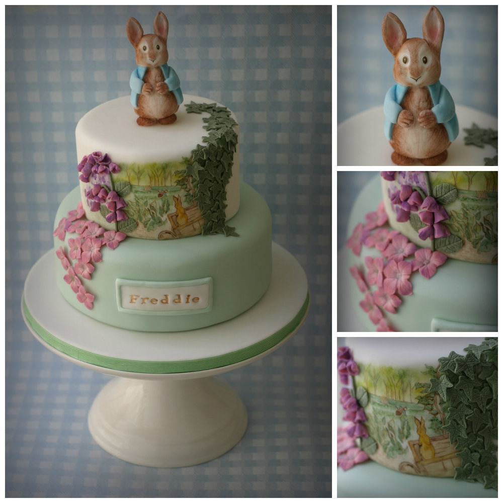 Peter Rabbit Christening Cake Collage.jpg