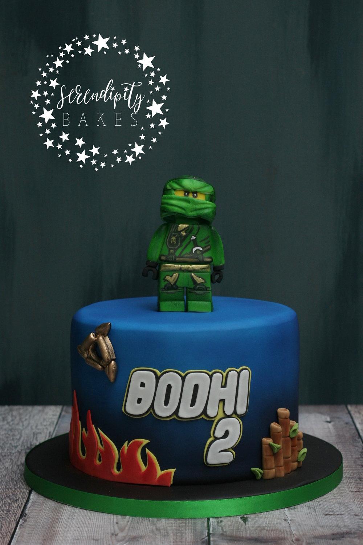 Bodhi's Lloyd Ninjago Cake.jpg