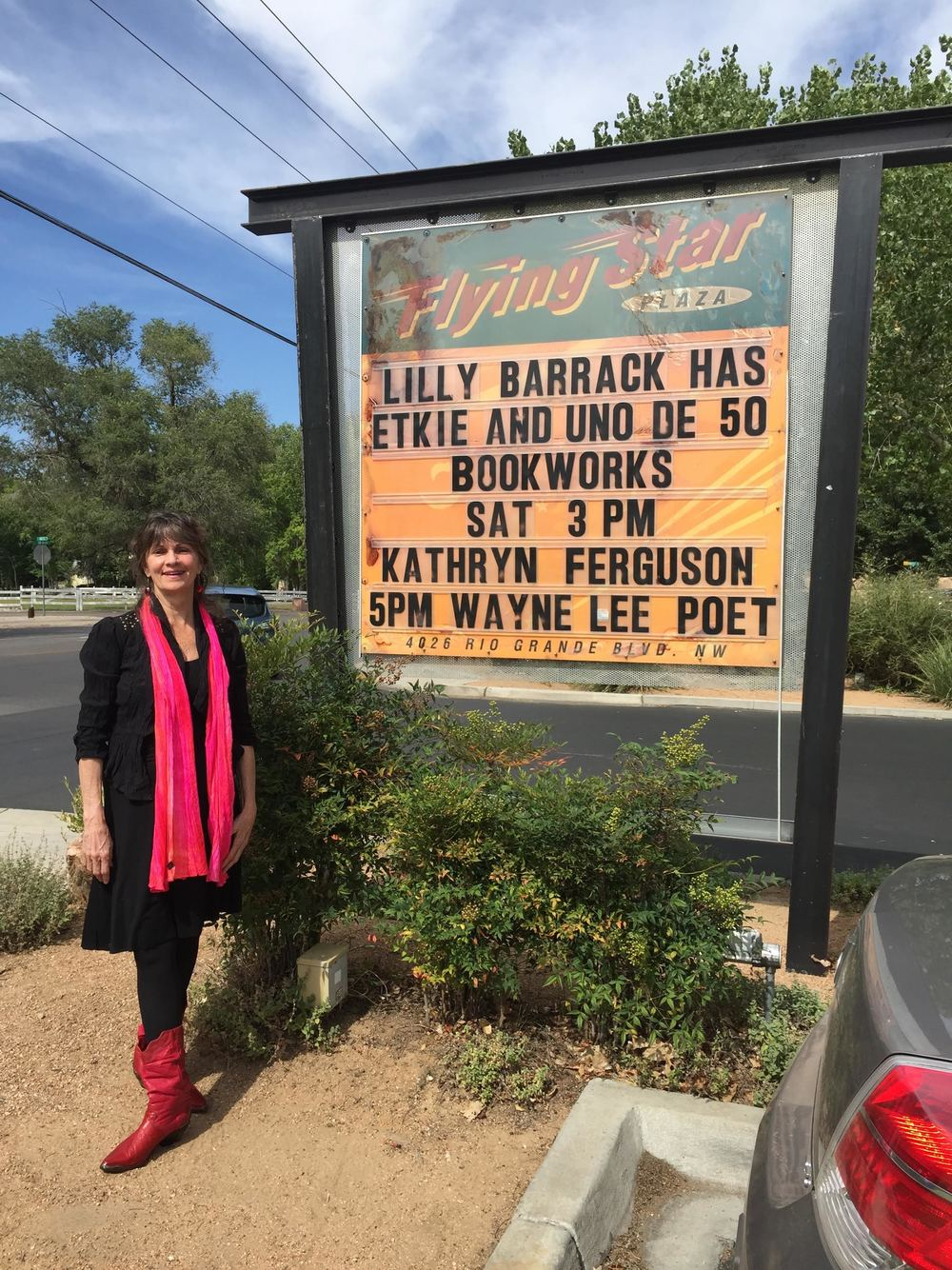 Reading at Bookworks in Albuquerque!
