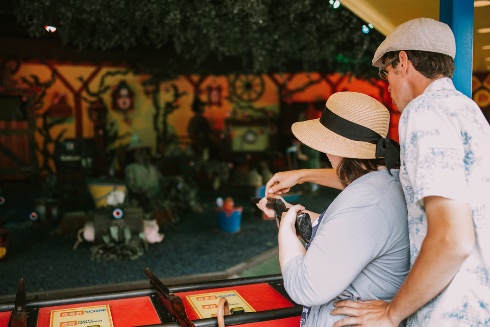 Kennywood Engagement Session