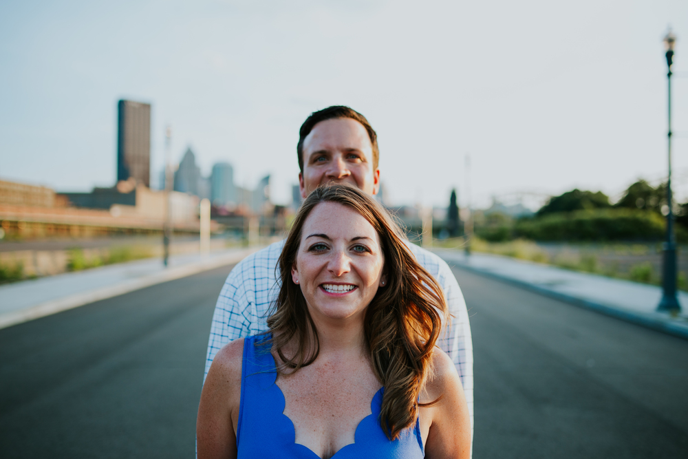 Strip District engagement session