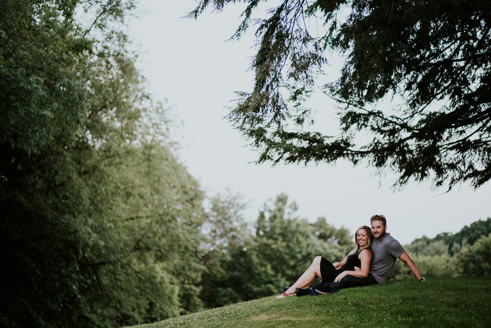 Hartwood Acres Engagement Shoot
