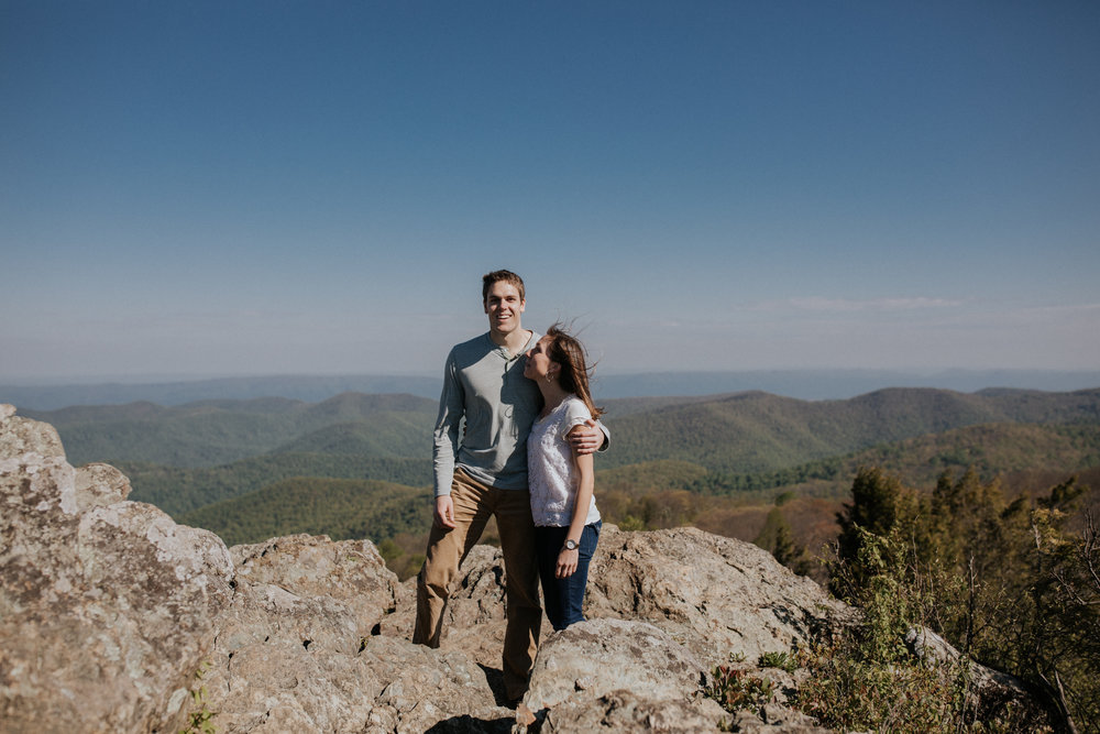 Shenandoah engagement session