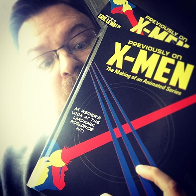 New #book day!!! Previously on X-Men The Making of an Animated Series arrived today signed by author/showrunner Eric Lewald and I️ could not be more excited to #read it!!!! #xmen #tas #makingof #indiepublishing #indiepublishers #readingiscool #booklove #books #bookworm #bookstagram #bookcover #wolverine #animation #cartoon #90s #alwaysbelearning #artforaliving