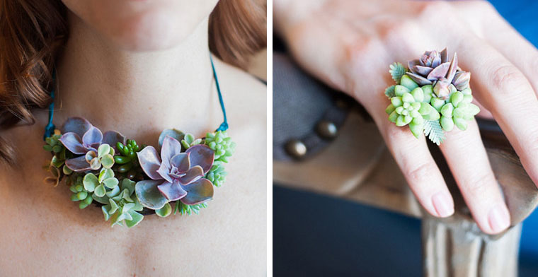 Fresh Flower Jewelry