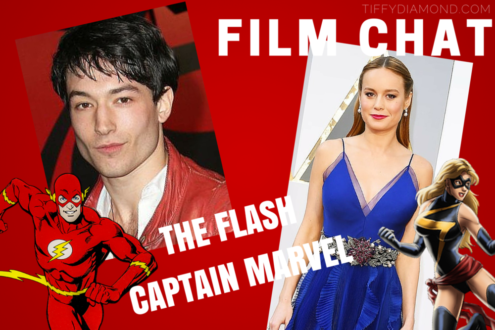 The Flash and Captain Marvel Film News