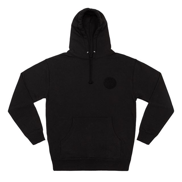 4 in 1 hoodie in black, available this Friday. DM for pre-order.  Heavyweight hoodie with velcro on the chest. Comes with 4 velcro patches to customize and switch as you like.