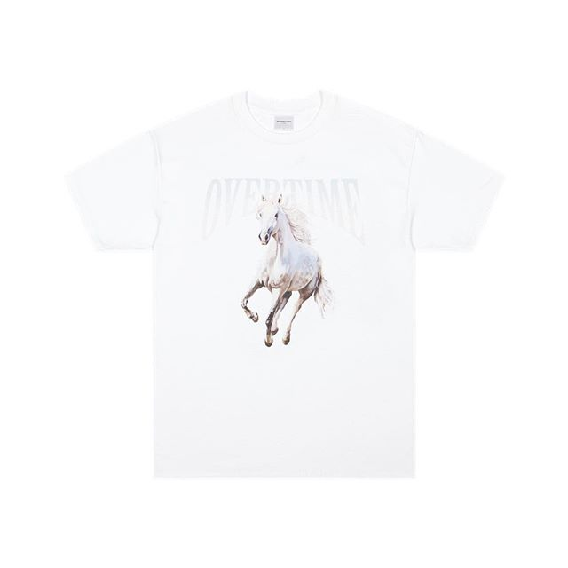 Freedom tee in white dropping soon... 🐎