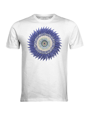 Flower Power Shirt - Blue