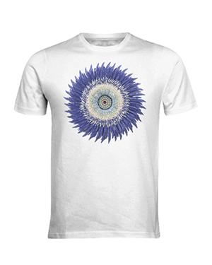 Flower Power Shirt - Blue