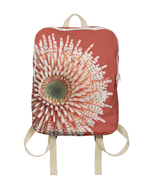 Flower Power Bag - Red