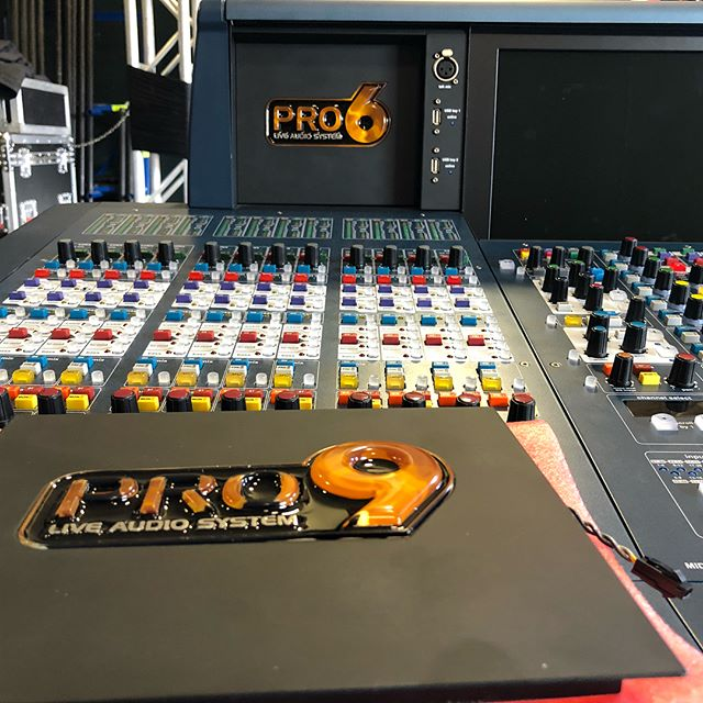 Upgrade complete.  @midasconsoles Pro6 -  Pro9 Thanks for the service and support @kristendidntlikemylastusername  #midas #pro9 #monitors #frontofhouse