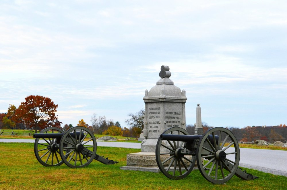 Gettysburg History Package  - Package includes overnight accommodations, afternoon tea, six-course prix-fixe dinner, breakfast tray, full breakfast, and Gettysburg Gile, Cyclorama, and Museum experience. Rates starting at $349 per night, based on double occupancy