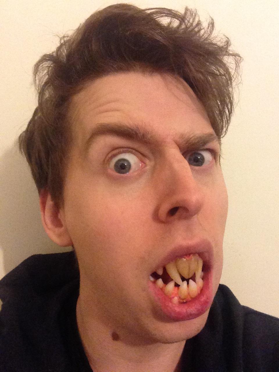 demonic teeth included