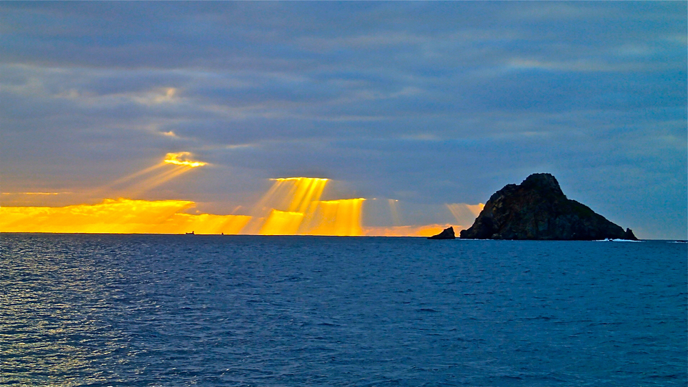 My favorite sunset in St. Barths