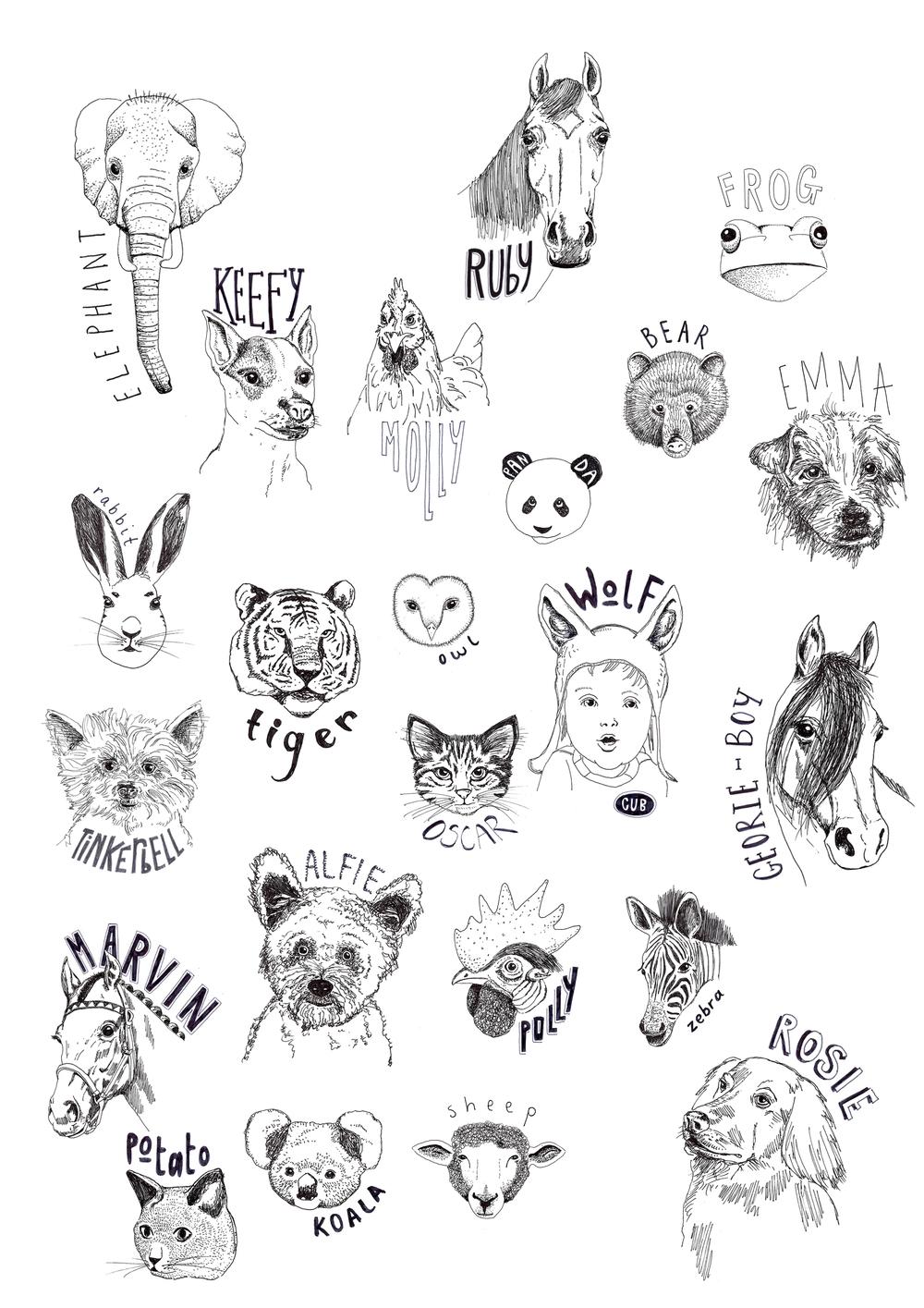+ Original Drawings
