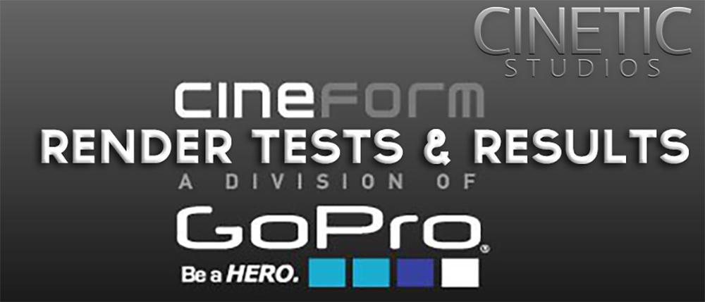 GoPro Cineform : A fast cross-platform solution? — Jason