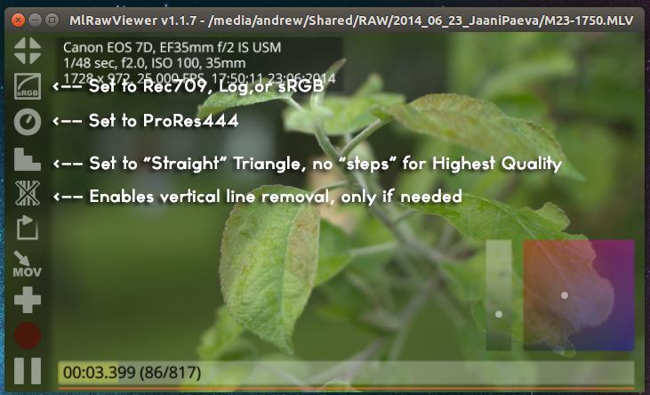 MlRawViewerScreenshot